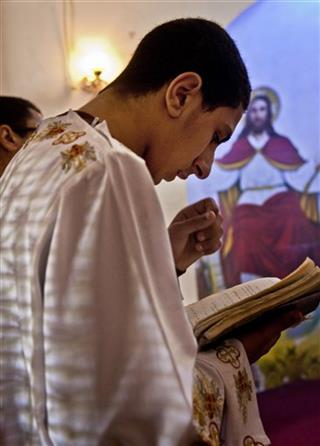 Mideast Egypt Kidnapping Christians