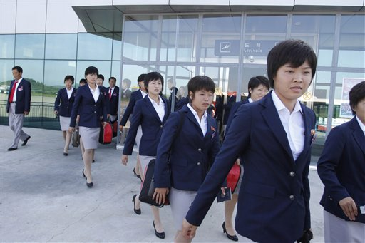 North Korea Women Soccer