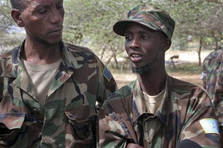 Somalia Defecting Militants