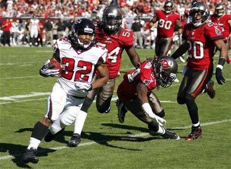 Jacquizz Rodgers, Mark Barron, Lavonte David, Ronde Barber