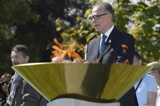 Switzerland IOC Olympic Flame