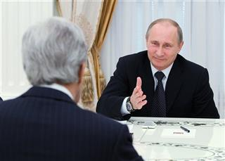 John Kerry, Vladimir Putin