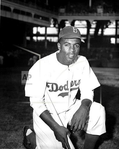 Associated Press Sports New York United States Professional Baseball (American League) DODGERS JACKIE ROBINSON