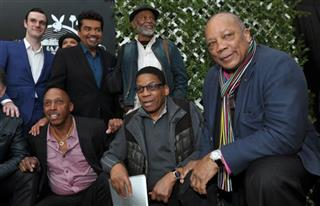 Quincy Jones, Jeffrey Osborne, Herbie Hancock, Hubert Laws, George Lopez, Cooper Hefner