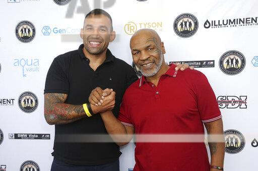 Mike Tyson, Standing United and the Tyson Ranch Celebrity Golf Tournament