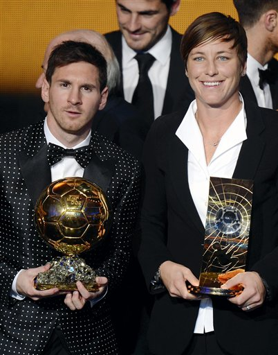 Lionel Messi, Abby Wambach