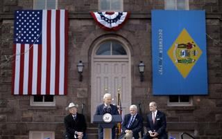 Joe Biden, Ken Salazar, Tom Carper, Donald Reese