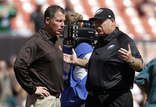 Andy Reid, Pat Shurmur