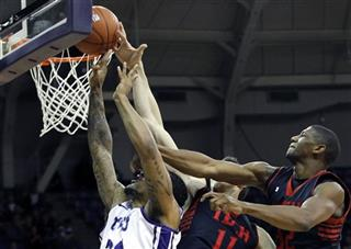 Texas Tech TCU Basketball