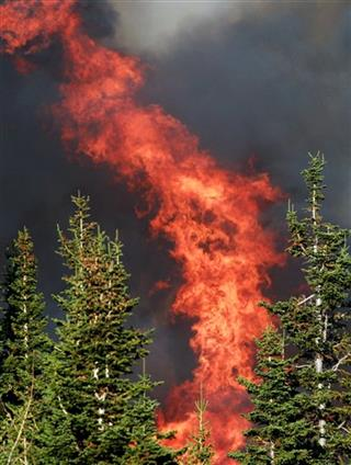 Casper Mountain Fire