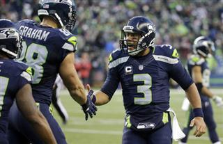 Jimmy Graham, Russell Wilson