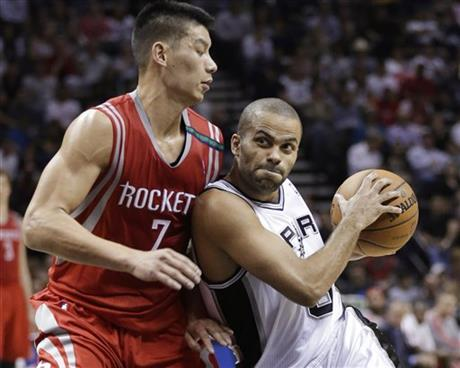 Tony Parker,  Jeremy Lin