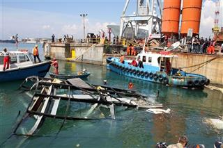 Italy Cargo Ship Crash