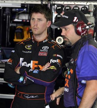 Denny Hamlin, Darian Grubb
