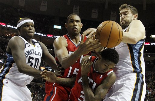 Zach Randolph, Marc Gasol, Al Horford, Louis Williams