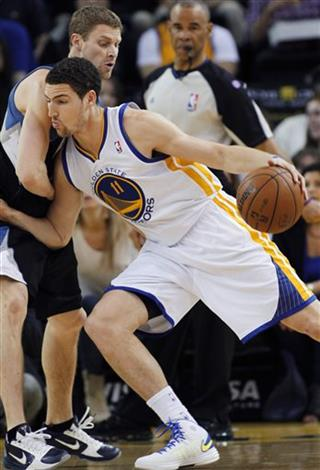 Klay Thompson, Luke Ridnour