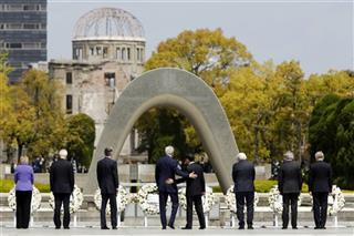 APTOPIX Japan US G7 Foreign Ministers