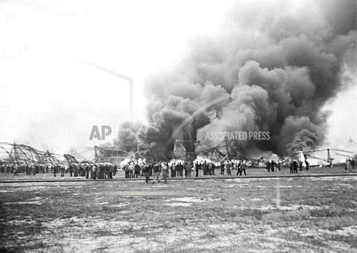 Associated Press Domestic News New Jersey United States HINDENBURG DISASTER