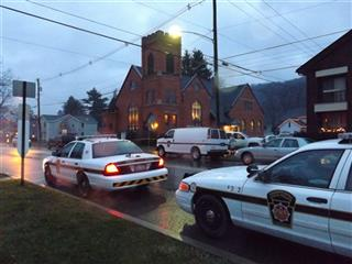 Ex-Wife Shot In Church