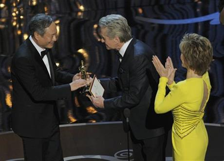 Jane Fonda, Michael Douglas, Ang Lee