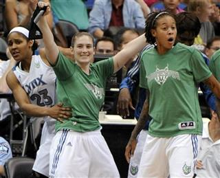 Maya Moore, Lindsay Whalen, Seimone Augustus, Rebekkah Brunson