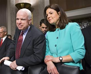 Kelly Ayotte, John McCain