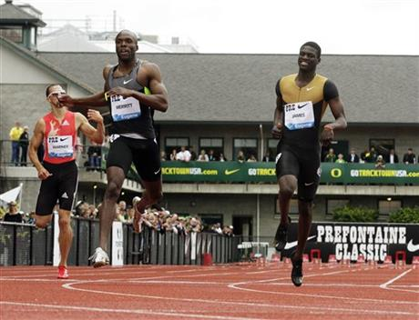 Lashawn Merritt, Kirani James