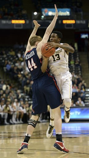 Richmond v. Wake Forest BKB