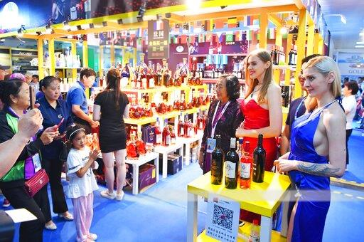 CHINA WINE GIRLS POPULARITY 12TH CHINA-NORTHESAT ASIA EXPO
