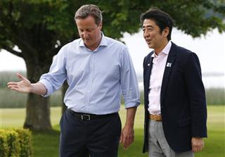 Shinzo Abe, David Cameron