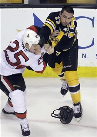 Chris Neil, Milan Lucic