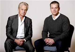 Michael Douglas, Matt Damon