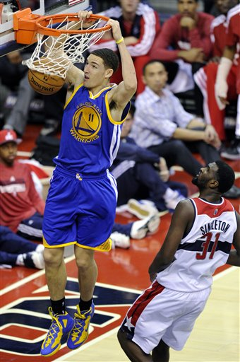 Klay Thompson, Chris Singleton