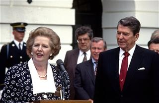 Ronald Reagan, Margaret Thatcher