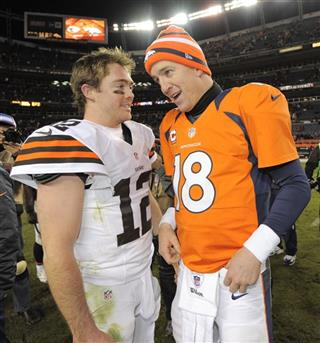 Peyton Manning, Colt McCoy