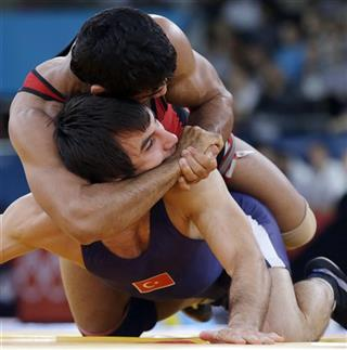 London Olympics Wrestling Men