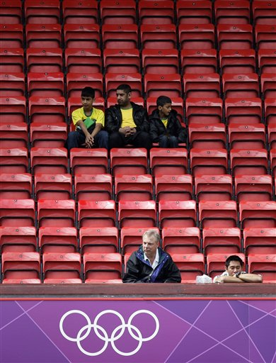 London Olympics Empty Seats