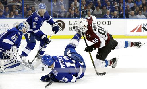 Avalanche Lightning Hockey