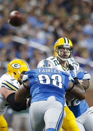 Aaron Rodgers, Nick Fairley
