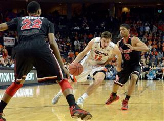 NIT St. John&#039;s Virginia Basketball