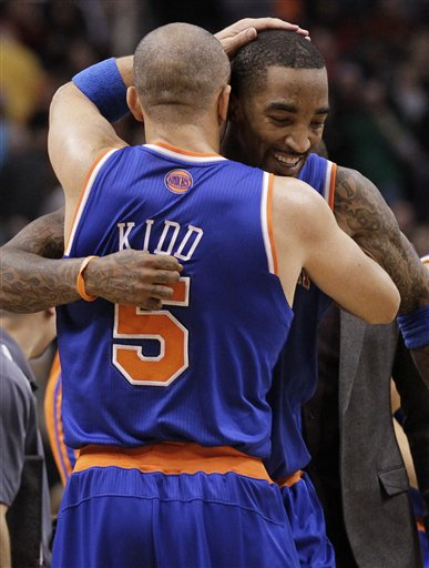 Jason Kidd, J.R. Smith