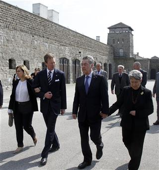 Heinz Fischer, Henri of Luxembourg, Maria Teresa of Luxembourg, Margit Fischer