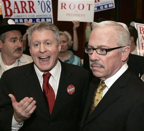 Wayne Allyn Root, Bob Barr