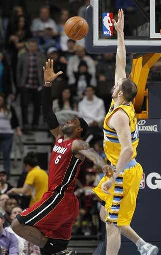 LeBron James, Kosta Koufos