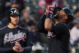 Juan Francisco, Freddie Freeman