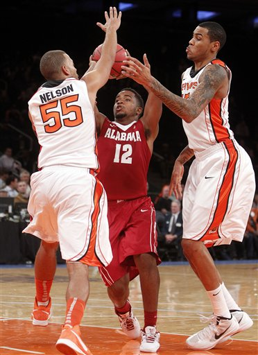 Alabama Oregon St Basketball