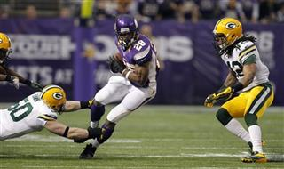Adrian Peterson, A.J. Hawk, Morgan Burnett