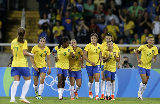 Brazil soccer players give hosts a winning start to Olympics