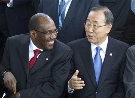 Toure, Ban Ki-moon