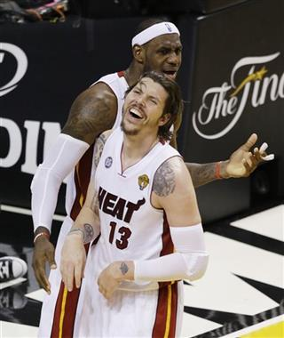 Mike Miller ,LeBron James